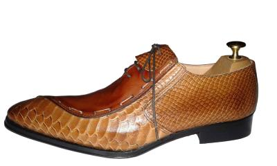 Chaussure Dundee marron clair