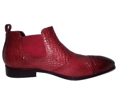 Mini boot Confort rouge