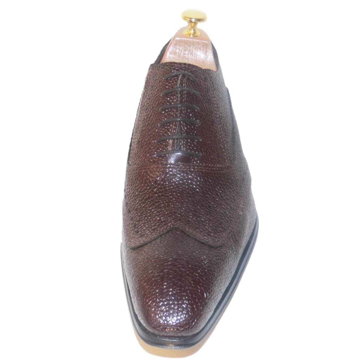 Cuir Bordeaux Richelieu Chaussure Grainé Madison FK1JlTc