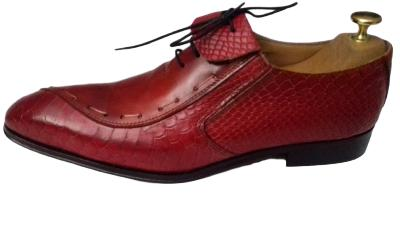 Chaussure Dundee rouge