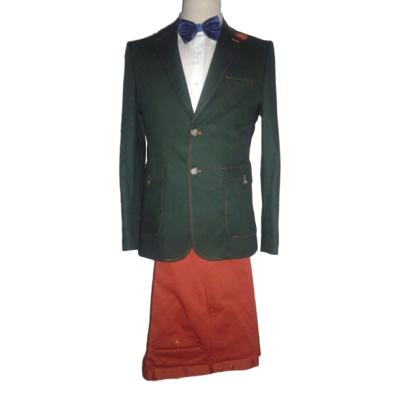 Costume homme vert et orange - Angelo