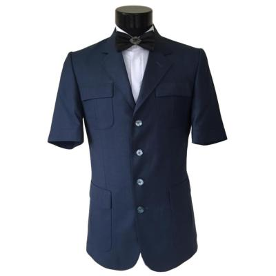 Costume safari homme bleu